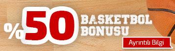 %50 basketbol bonusu