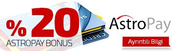 AstroPay Bonus - %20