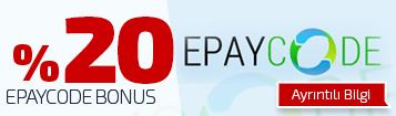 %20 EPayCode Bonus