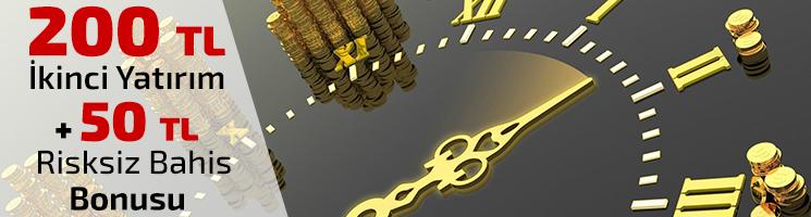 WSBets 200 TL İkinci Yatırım + 50 TL Risksiz Bahis Bonusu